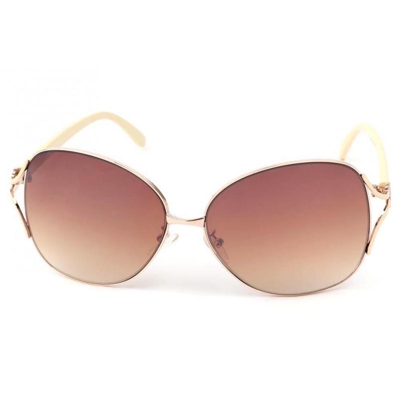 lunettes de soleil femme paris cr me verre fum marron cat gorie 3ce. Black Bedroom Furniture Sets. Home Design Ideas
