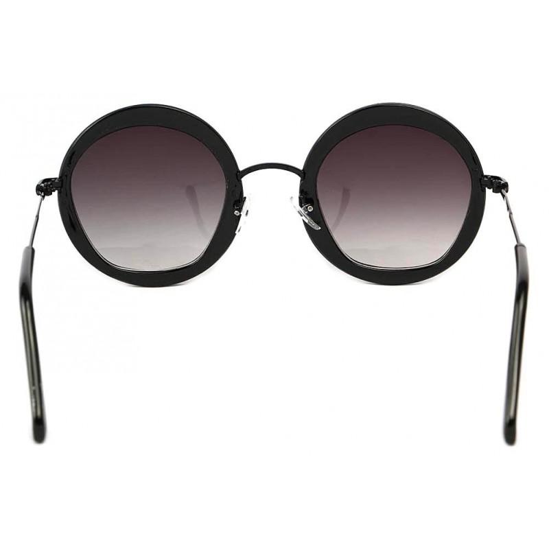 achat lunette ronde noire vintage carly choix sur. Black Bedroom Furniture Sets. Home Design Ideas