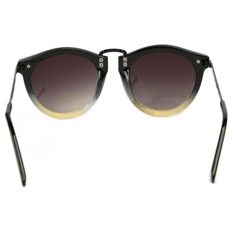 achat lunettes de soleil vintage noire d grad gris rosita. Black Bedroom Furniture Sets. Home Design Ideas