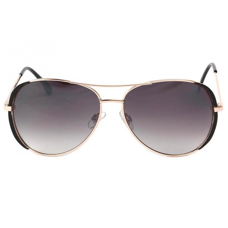 vente lunettes de soleil femme dor e et noire boutique. Black Bedroom Furniture Sets. Home Design Ideas