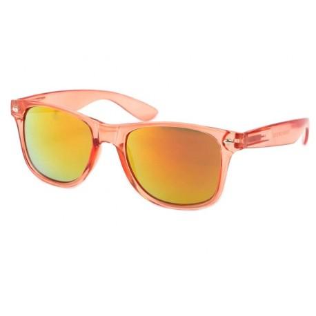 Lunettes de Soleil Orange Transparente Aero Lunettes de Soleil Eye Wear