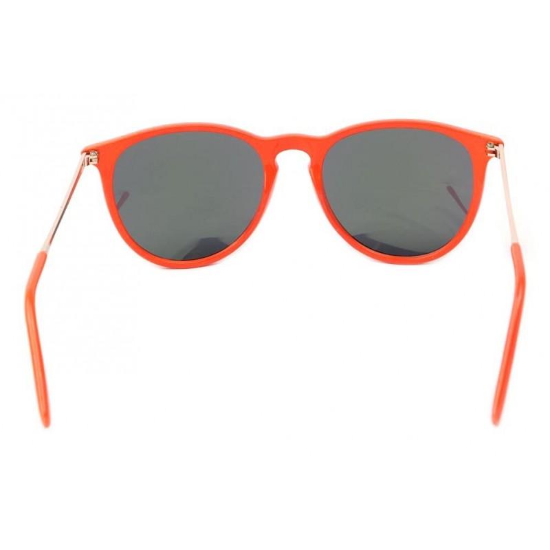 achat lunettes de soleil rouge orange littlel boutique lunettesloupe. Black Bedroom Furniture Sets. Home Design Ideas