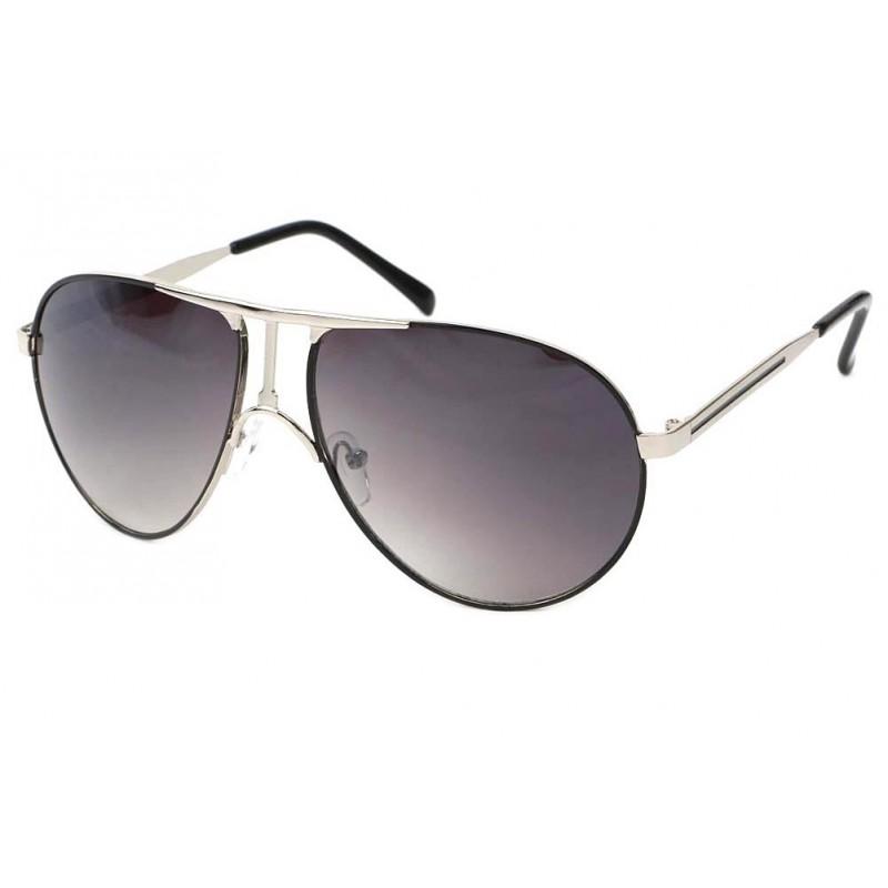 achat lunette aviateur noire grise frank boutique. Black Bedroom Furniture Sets. Home Design Ideas