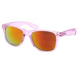 Lunettes de Soleil Violette Transparente Aero Lunettes de Soleil Eye Wear