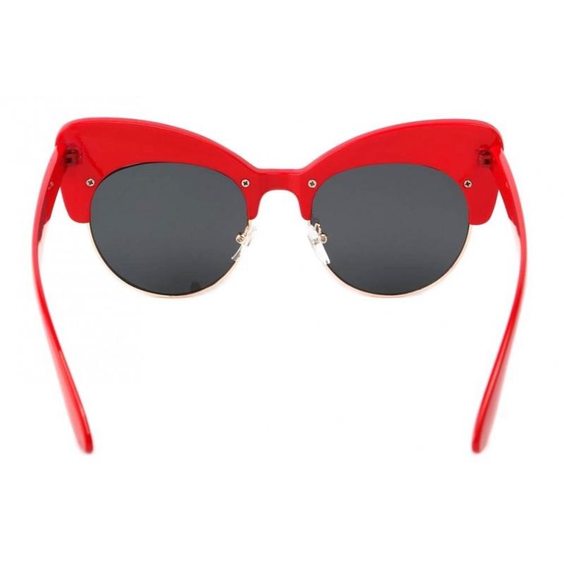 achat lunette de soleil femme vintage rouge maryline style glamour 50s. Black Bedroom Furniture Sets. Home Design Ideas
