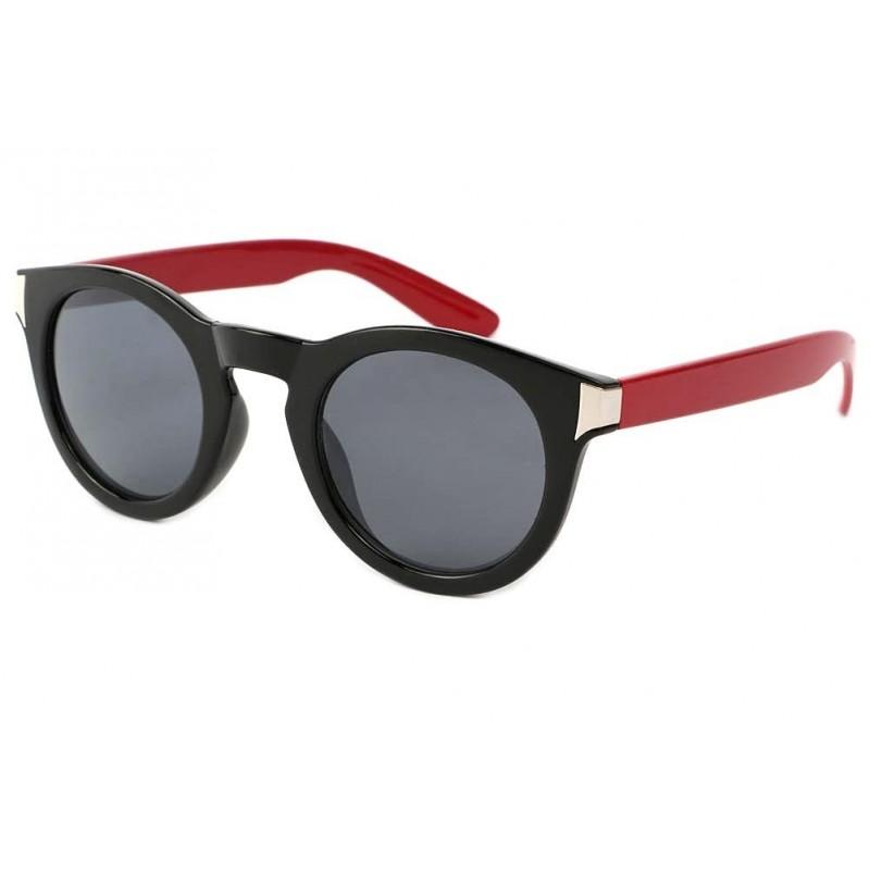 vente lunette de soleil ronde rouge noire really site. Black Bedroom Furniture Sets. Home Design Ideas