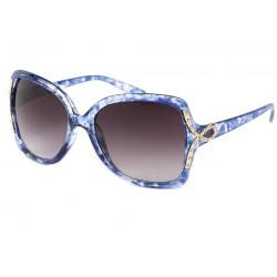 Lunette de Soleil Femme Bleu Ecailles Lolita Lunettes de Soleil Eye Wear