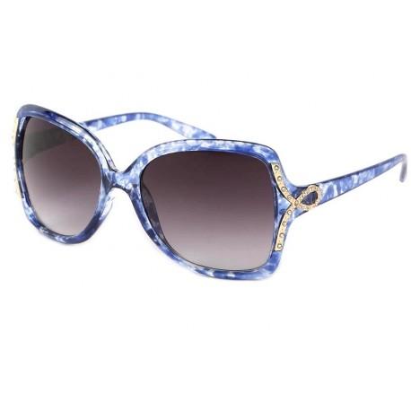 Lunette de Soleil Femme Bleu Ecailles Lolita