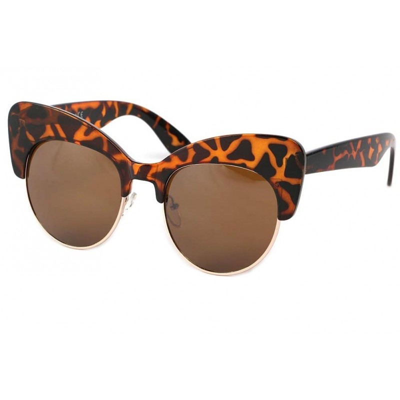 achat lunette de soleil ronde vintage maryline boutique lunettesloupe. Black Bedroom Furniture Sets. Home Design Ideas