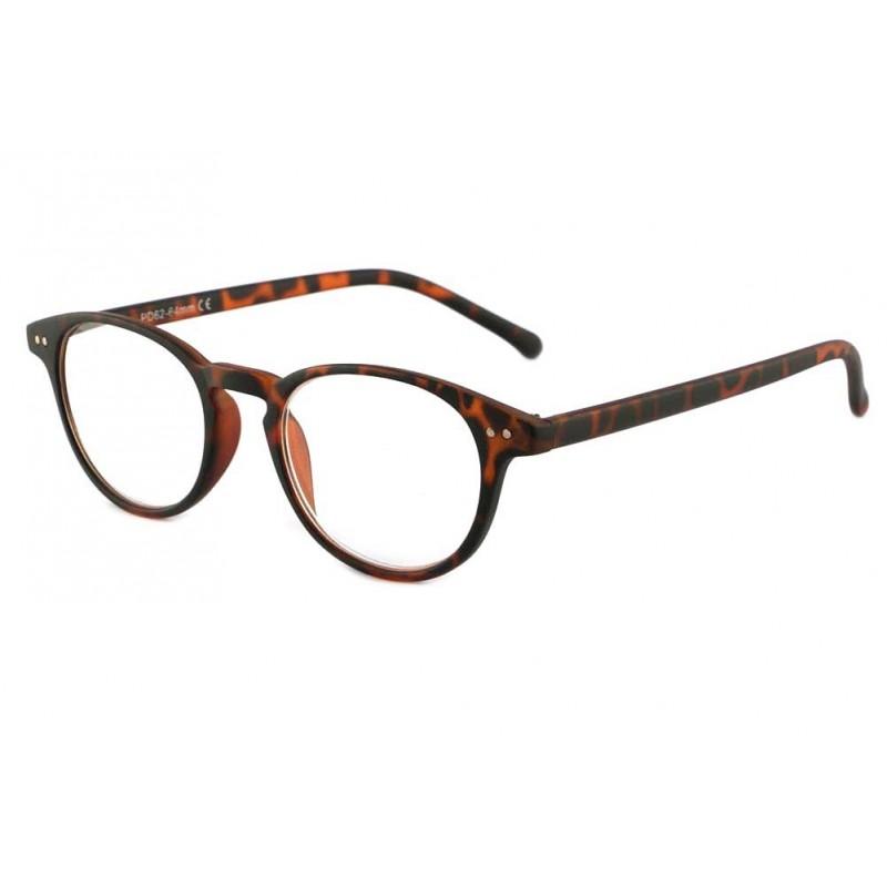 achat lunette loupe ronde marron felt site presbyte lunettesloupe. Black Bedroom Furniture Sets. Home Design Ideas