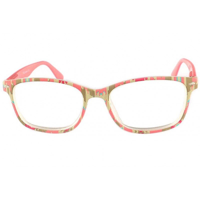achat lunette loupe femme verte et rose andie boutique. Black Bedroom Furniture Sets. Home Design Ideas
