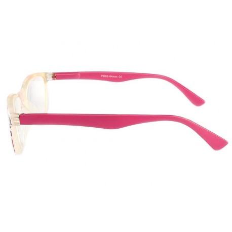 Lunette de lecture Femme Rose, lunettes loupe originales