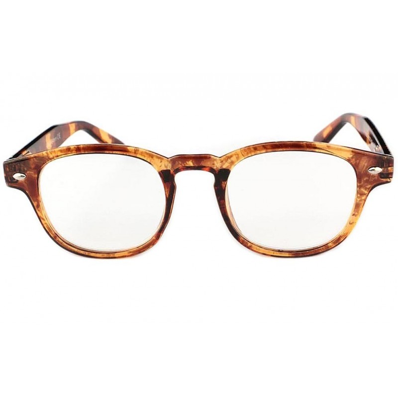 achat lunette loupe ronde r tro marron huko shop. Black Bedroom Furniture Sets. Home Design Ideas