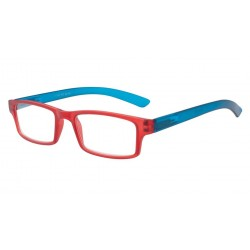 Lunettes Loupe Rectangulaire Rouge et Bleue Asap