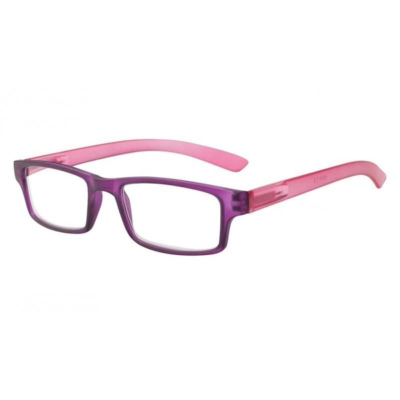 achat lunette loupe rectangle rose violette asap. Black Bedroom Furniture Sets. Home Design Ideas