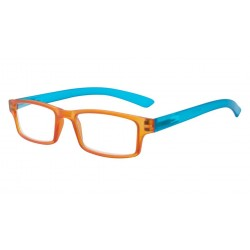 Lunettes Loupe Rectangle Orange et Turquoise Asap Lunette Loupe New Time
