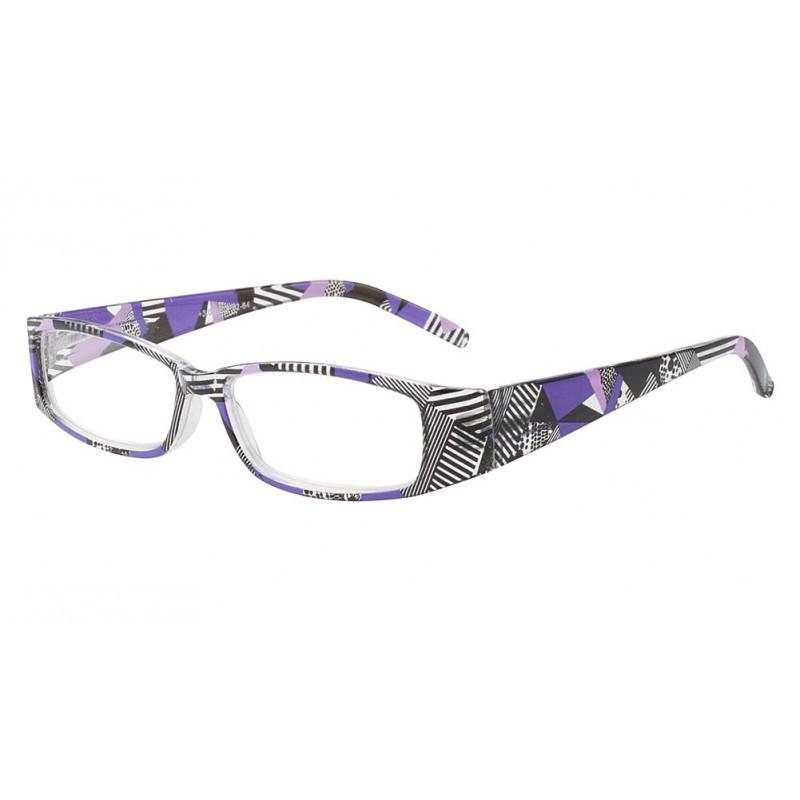 vente lunette loupe femme violette et noire lula shop. Black Bedroom Furniture Sets. Home Design Ideas