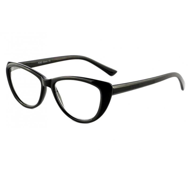 vente lunette de lecture femme noire papillon vero site lunettesloupe. Black Bedroom Furniture Sets. Home Design Ideas