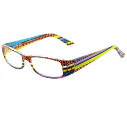 Lunette Loupe Bleu Orange et Jaune Katze Lunette Loupe New Time