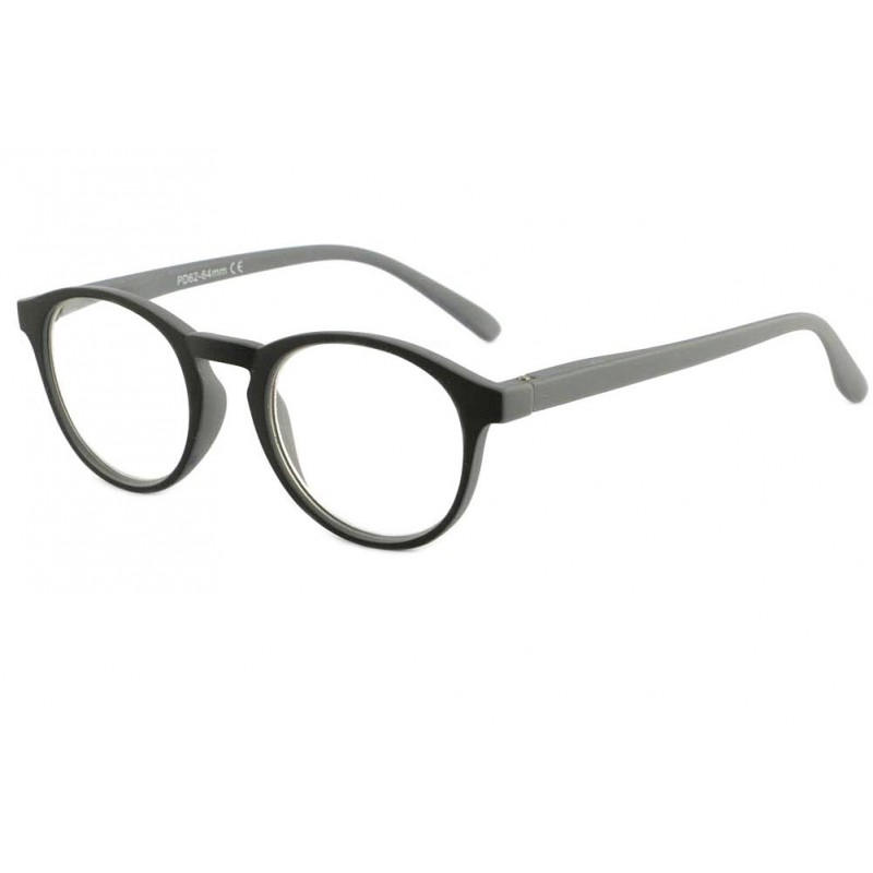vente lunette loupe ronde grise et noire sorel site. Black Bedroom Furniture Sets. Home Design Ideas
