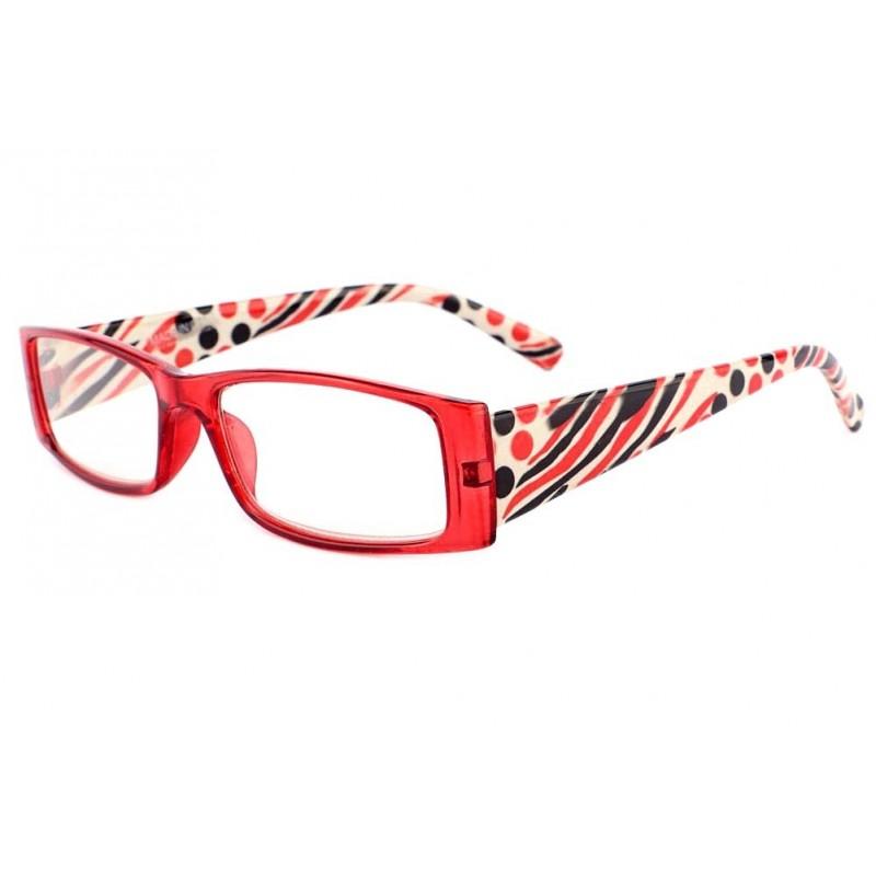 lunettes loupe fantaisie rouge achat en ligne. Black Bedroom Furniture Sets. Home Design Ideas