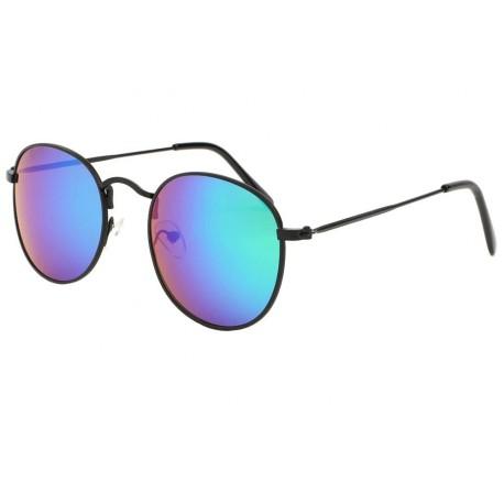 Lunettes de soleil rondes Bleues Melta Lunettes de Soleil Eye Wear