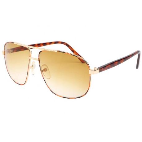 Lunettes de soleil Fashion Marron et Jaune Yava Lunettes de Soleil Eye Wear