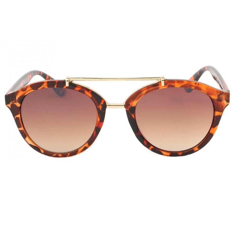 lunettes de soleil rondes vintage ecaille marron amber livraison 48h. Black Bedroom Furniture Sets. Home Design Ideas