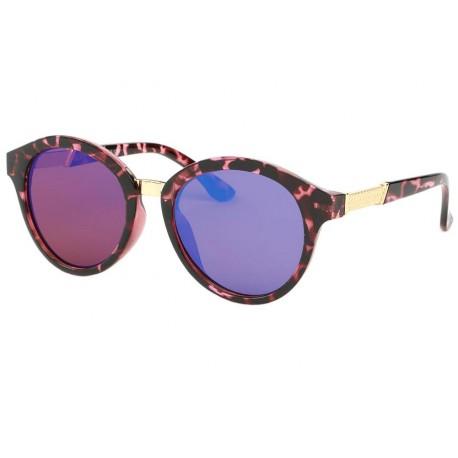 Lunette de soleil Vintage Rose et Noire Ychel Lunettes de Soleil Eye Wear