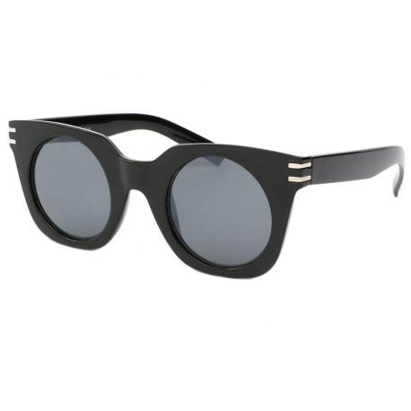 lunettes de soleil femme mode Noir Brillant Dora