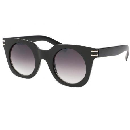 Lunettes de soleil femme mode Noir Mat Dora