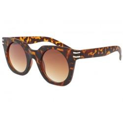 Lunettes de soleil femme mode Marron Mat Dora Lunettes de Soleil Eye Wear