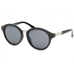 Lunette de soleil Vintage Noir et Argent Opitz Lunettes de Soleil Eye Wear
