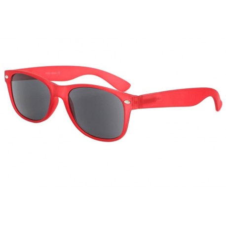 Lunettes Loupe Solaire Rouge Looka Lunettes Loupe Solaire New Time