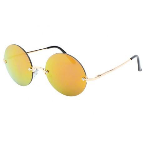 Lunettes de Soleil monture dorée Lemon anciennes collections divers