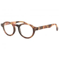 Lunette Loupe Fantaisie Marron Lazy Lunette Loupe New Time