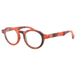 Lunettes Loupes Fantaisies Orange Lazy