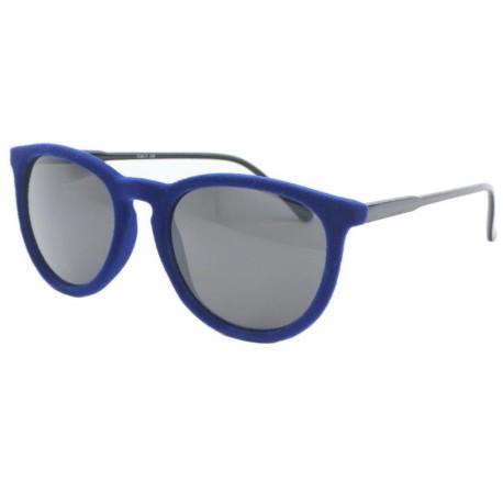 Lunettes de soleil velours Bleu Disco Lunettes de Soleil Eye Wear