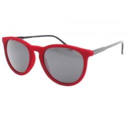 Lunettes de soleil velours Rouge Disco