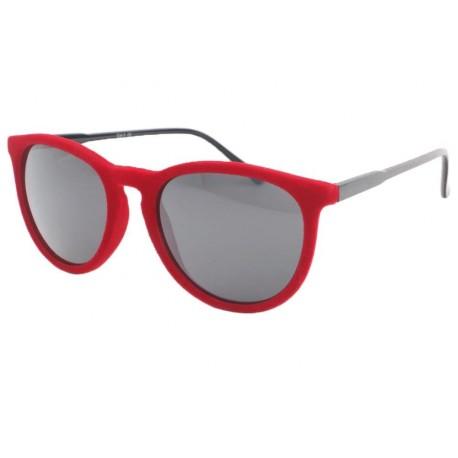 Lunettes de soleil velours Rouge Disco Lunettes de Soleil Eye Wear