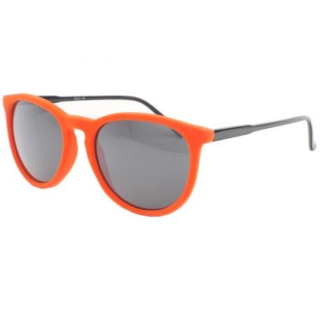 Lunettes de soleil velours Orange Disco
