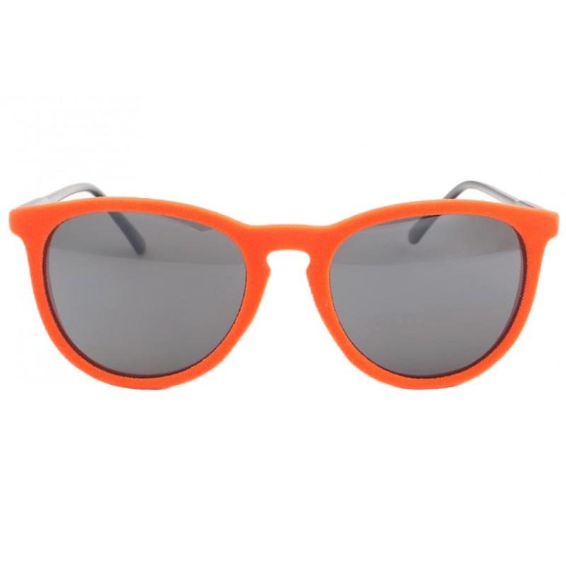 lunettes de soleil velours orange disco lunette fantaisie. Black Bedroom Furniture Sets. Home Design Ideas