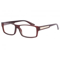 Lunettes Loupe rectangle Marron Schick
