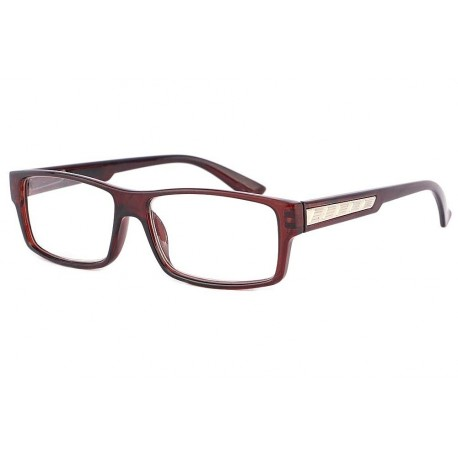 Lunettes Loupe rectangle Marron Schick anciennes collections divers