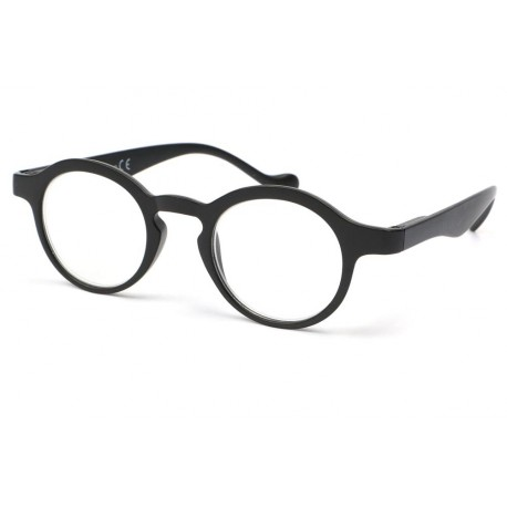 Lunette loupe ronde noire Vynta Lunette Loupe New Time