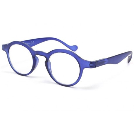Lunette loupe ronde Bleu marine Vynta Lunette Loupe New Time