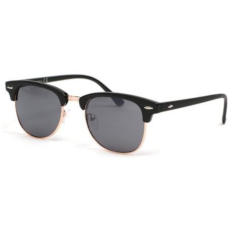 Lunettes de soleil vintage noir Eurek Lunettes de Soleil Eye Wear