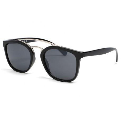 Lunettes soleil tendance noire Buck Lunettes de Soleil Eye Wear