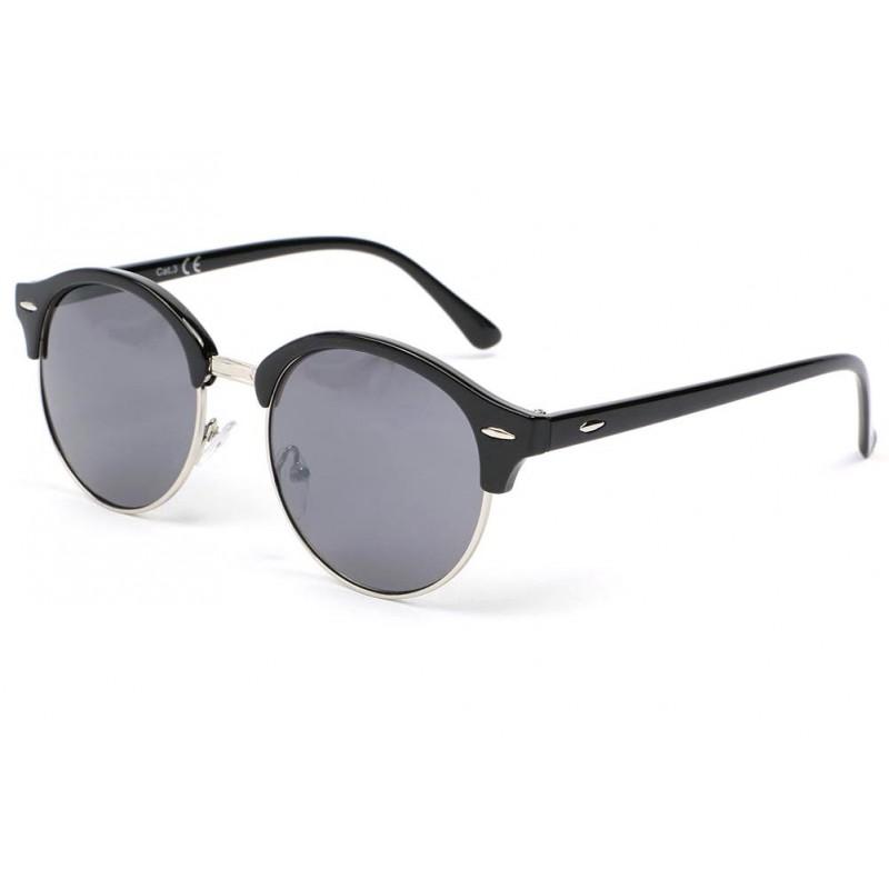 lunette de soleil ronde noir tuxy lunette vintage classe. Black Bedroom Furniture Sets. Home Design Ideas