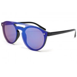 Lunette de soleil miroir bleu Weyl Lunettes de Soleil Eye Wear
